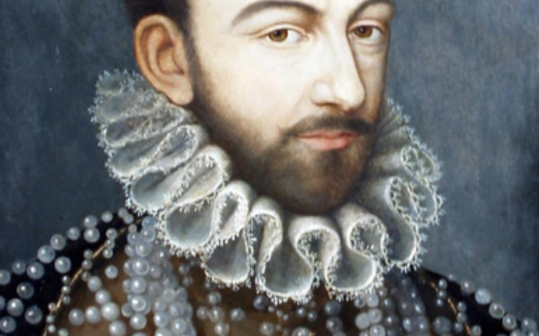The « Man with pearls »